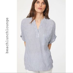 NWT beachlunchlounge Striped Top